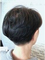 【AMAZING HAIR 美沢店/桜井】大人の夏髪 刈上げショート