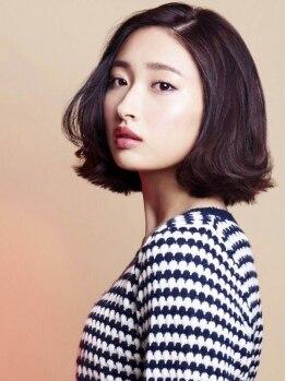 ヘアー リッツ 武豊店(Hair Ritz)の写真/今話題の《リッチカラー》がオススメ☆天然植物成分をベースに作られているので、潤いのある髪を持続。