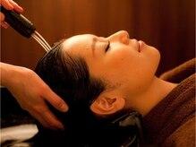 カバーヘアアンドスパ ブリス 浦和西口店(COVER HAIR & SPA bliss)の雰囲気(水の流れに癒されるウォーターSPA。頭皮診断も実施【浦和北口】)
