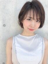 ヘアースパパズ(hair spa PAZ)ネオシースルーバング×ショートボブ/髪質改善/COTA
