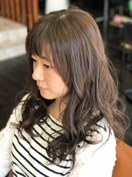 ヘアーアンドメイク アネラガーデン(HAIR&MAKE Anela garden)の写真/地元で可愛いヘアスタイルにしたい方☆都内有名店の技術を学んでいるAnelaなら、似合うパーマ見つかる♪