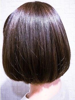 ビューティシモ 所沢(Beautissimo)の写真/《30~40代OL・主婦の支持多数》白髪の染まりも色味も欲張りたい貴女へ。艶感&潤いヘアでお洒落を楽しむ◎