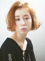 ロッジ 原宿店(RODGE)『feminine×mode』切りっぱなしボブ【RODGE原宿】