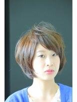ザ ヘア リゾート ラグーン(The Hair Resort Lagoon)【Lagoon櫻井優理】軽やかショートボブ