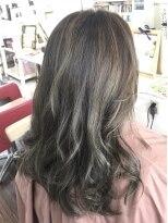 ヘアーデザイン キャンパス(hair design Campus)【RブリーチRカラー☆】ハイライトをちりばめたブロントアッシュ