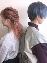 ロルド ポワール(Rold poire)【TAKUYA】ピンク×ライトブルー