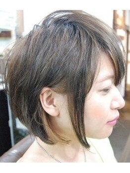 アートザガーデン(Art the garden)の写真/あなたの髪質・状況に合わせてスタイルを作り上げていく★ヘアスタイルでお困りな方に嬉しいヘアサロン♪