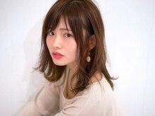 ヘアー サロン バロール 立川店(Hair Salon Valor)の雰囲気(大人気の透け感のあるスタイル!大人ガーリーミディアム☆)