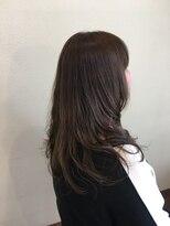 ヘアメイク スコア(Hair Make S CORE)クールアッシュなカールスタイル