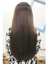 アッシュ 伊勢崎(ash)20代30代40代/髪質改善/艶感ストレート/ナチュラルブラウン