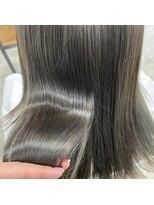 ヘアーアイストゥーレ(HAIR ICI TRE)透明感カラー オリーブカラー