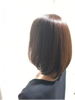 ラフォンテ(La fonte)の写真/【厳選薬剤使用!】カラー時に栄養分を髪に閉じ込めるから、ダメージレスな仕上がりに♪艶・発色も◎