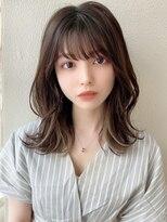【Silk-lei吉祥寺】イヤリングカラ前髪イメチェン小顔ヘア20代