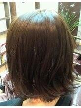 ヘア デ パルサ(Hair de Parusa)のばしかけ外ハネボブ