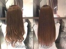 美髪クリニック ギンザ プライム 銀座店(GINZA prime)の雰囲気(美容成分80%「洗う美容液」の贅沢なシャンプーを使用[銀座])
