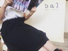 ヘアアトリエ バル(hair atelier bal)の雰囲気(ジョマローンのいい香りがする店内でお待ちしております!!)