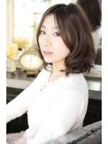 ギフト ヘアー サロン(gift hair salon)ゆるウエーブ Aラインボブスタイル (熊本・通町筋・上通り)
