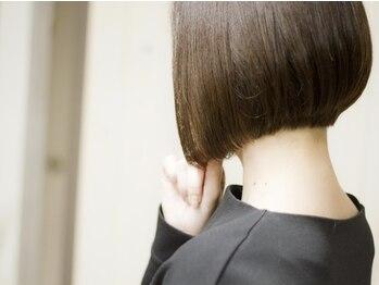 ビスカ(Bisca)の写真/東京有名サロンで磨いたカット技術で1mm単位にこだわり、再現性が高くスタイリングしやすい仕上がりが好評!