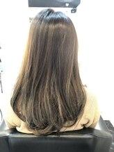 ファクトリー(FACTORY)美髪 チャコール 大人グレージュカラー 黒髪