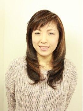 ヘアー ページ イッコ(HAIR PAGE ICCO)ミセスロング