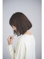 ヘアデザイン ロッコ(hair design ROCCO)【グレージュ×馴染みピンクハイライト】ナチュラルBOB♪