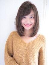 ロンド フィーユ(Lond fille)【水野拓也】大人かわいい小顔に見える前下がりセミディ☆