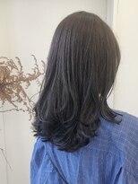 モッズヘア 仙台長町店(mod's hair)《mod's hair仙台長町店》透明感たっぷりの暗髪カラー 赤川優衣