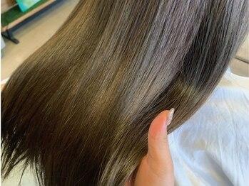 """ルーディ(Ludi)の写真/その日限りのキレイではなく""""本当に美しい髪""""に―。Ludiオリジナルのヘアケアで日頃のお手入れもお任せ◎"""