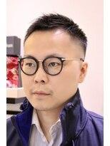 ヨシザワインク プレミアム 築地店(YOSHIZAWA Inc. PREMIUM)【ヨシザワ聖路加】おしゃれ坊主ソフトモヒカンフェード