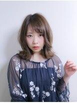 ノル(nol hair&spa)ナチュラル外ハネミディ