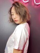 """シマ シックス ギンザ(SHIMA SIX GINZA)""""street bob hair"""""""