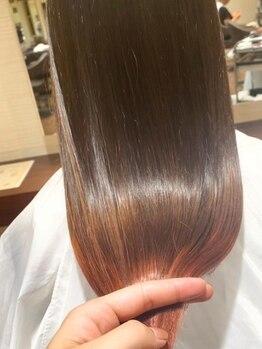アート ヘアーライド 石山店(Art hair RIDE)の写真/ハイトーン、ブリーチの繰返しなどでハイダメージが気になる方他店でのお直しもお任せください♪