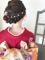 ルーチェ ヘアサロン(Luce hair salon)着物セット