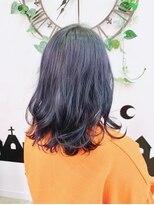 ヘアーサロン エール 原宿(hair salon ailes)(ailes 原宿)style434 ダークサファイア☆ボブディ