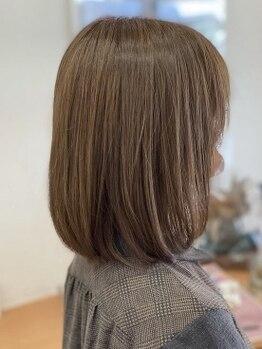 ヴィオ(hair make ViHo)の写真/一人ひとりを可愛く、カッコよく、キレイにプロデュース―。[新規/カット+ケアカラー+クイックTR¥7920]