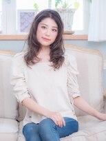 オーブ ヘアー フィオーレ 京都桂店(AUBE HAIR fiore)パーマで束感♪大人ロング
