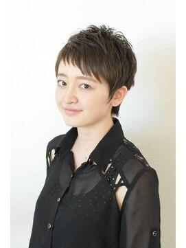 エミューヘアー デザイン ゆいの杜店(emu hair design)ベリーショートスタイル