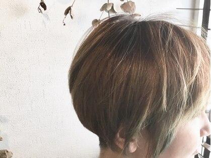 ブロー ヘア デザイン(blow hair design)の写真