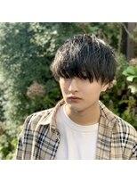 黒髪マッシュ×シークレットパーマ 【Ver. 柏】