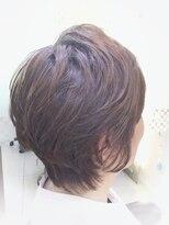 【50代60代素敵大人ショート】×【3Dハイライトカラー】