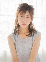 オジコ(ojiko)☆月曜日営業☆ojiko.大人可愛い柔らかニュアンスハーフアップ