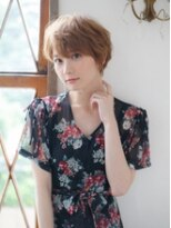 「ふわふわラフショート」(カラー)Ursus hair五井店【五井駅】