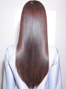 エタニティ 弥刀店(eternity)の写真/自分の髪じゃないみたい…!!通うほどに健康的な美髪が手に入る◇ハイダメージに特化したTrの取り扱いあり◎
