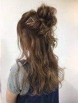 アリーズヘアー 青山(allys hair)2017年冬のアレンジスタイル