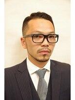 プレミアムバーバー 原宿店(PREMIUM BARBER produce by HIRO GINZA)クラシカル七三【原宿】