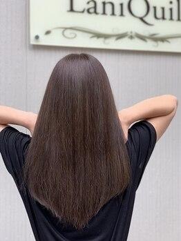 """ラニクイール(Lani Quill)の写真/トリートメント成分を髪の深層まで浸透させる""""CAREPRO""""や健康的な髪を長く持続させる""""Varijoie""""で艶髪に★"""