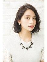 ジョエミバイアンアミ(joemi by Un ami)【joemi】20%顔が細く見える前髪なしボブ 大島幸司