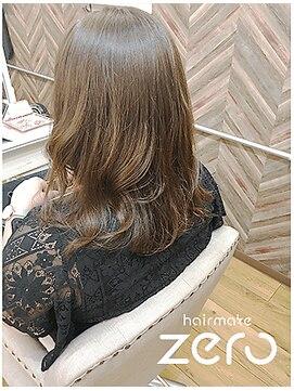 ヘアーメイクゼロ 坂戸駅前店(hairmake zero)アディクシー スモーキートパーズ