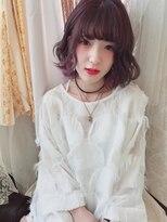 アリス ヘア デザイン(Alice Hair Design)Alice☆ラベンダーパープル×カラーバター