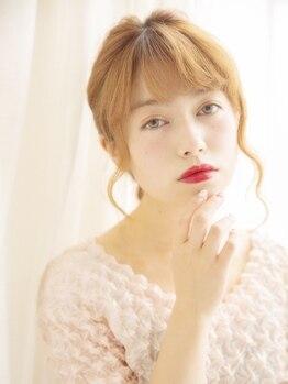 テクノ(TECHNO)の写真/《HairSet¥3500~★》結婚式/お呼ばれ/デートに!!特別なアレンジで可愛さUP♪《HappyDirector Cut¥2100》
